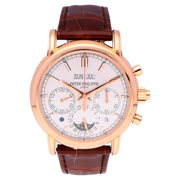 Patek Philippe Grand Complications Perpetual Calendar Chronograph 18k Rose Gold - 5204R-001
