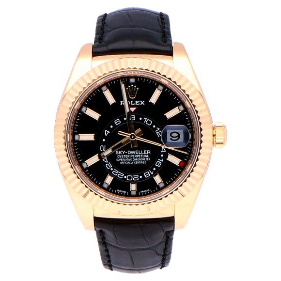Rolex Sky-Dweller 18k Yellow Gold - 326138