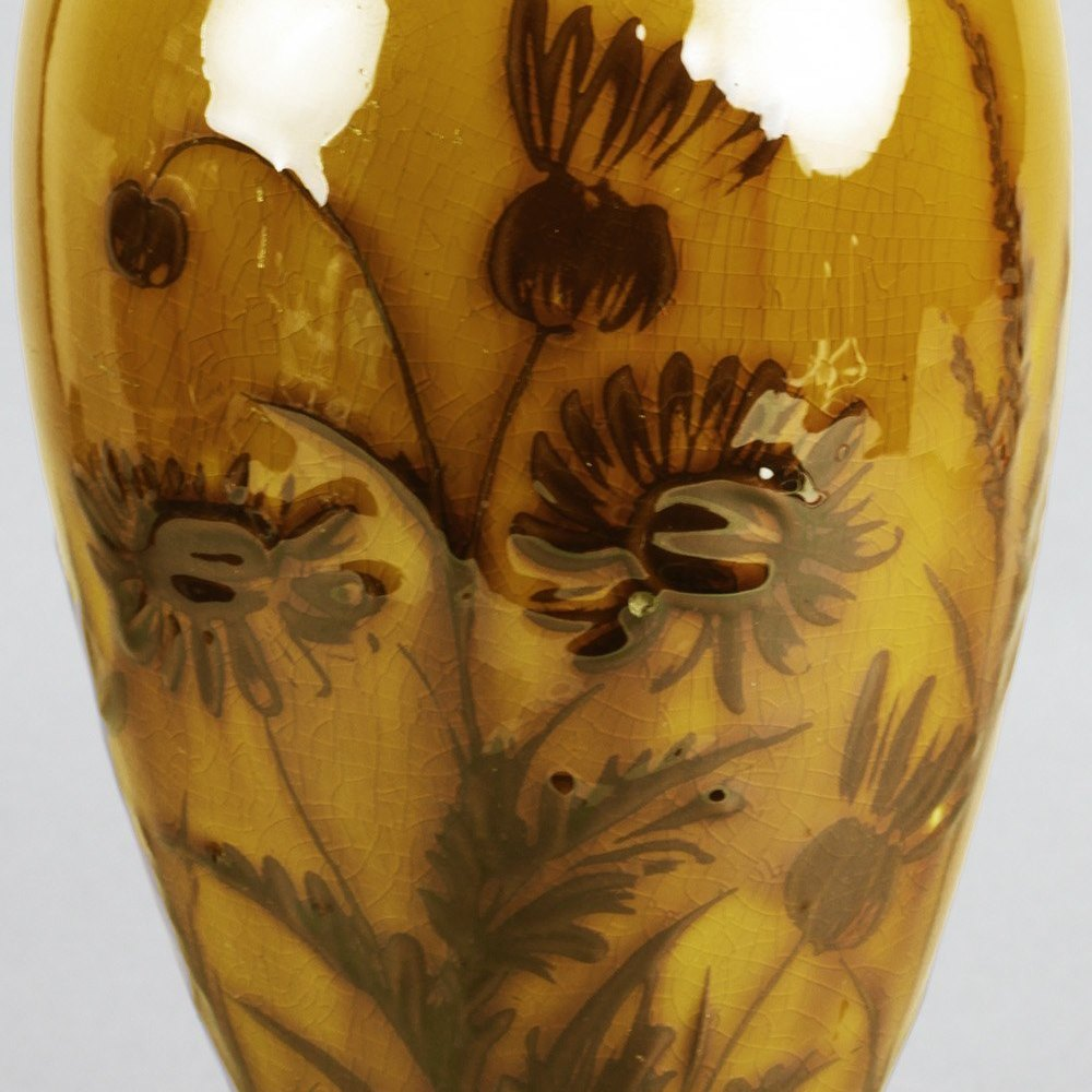 ARTHUR P SHORTER LINTHORPE VASE Dates from between 1879 and 1889