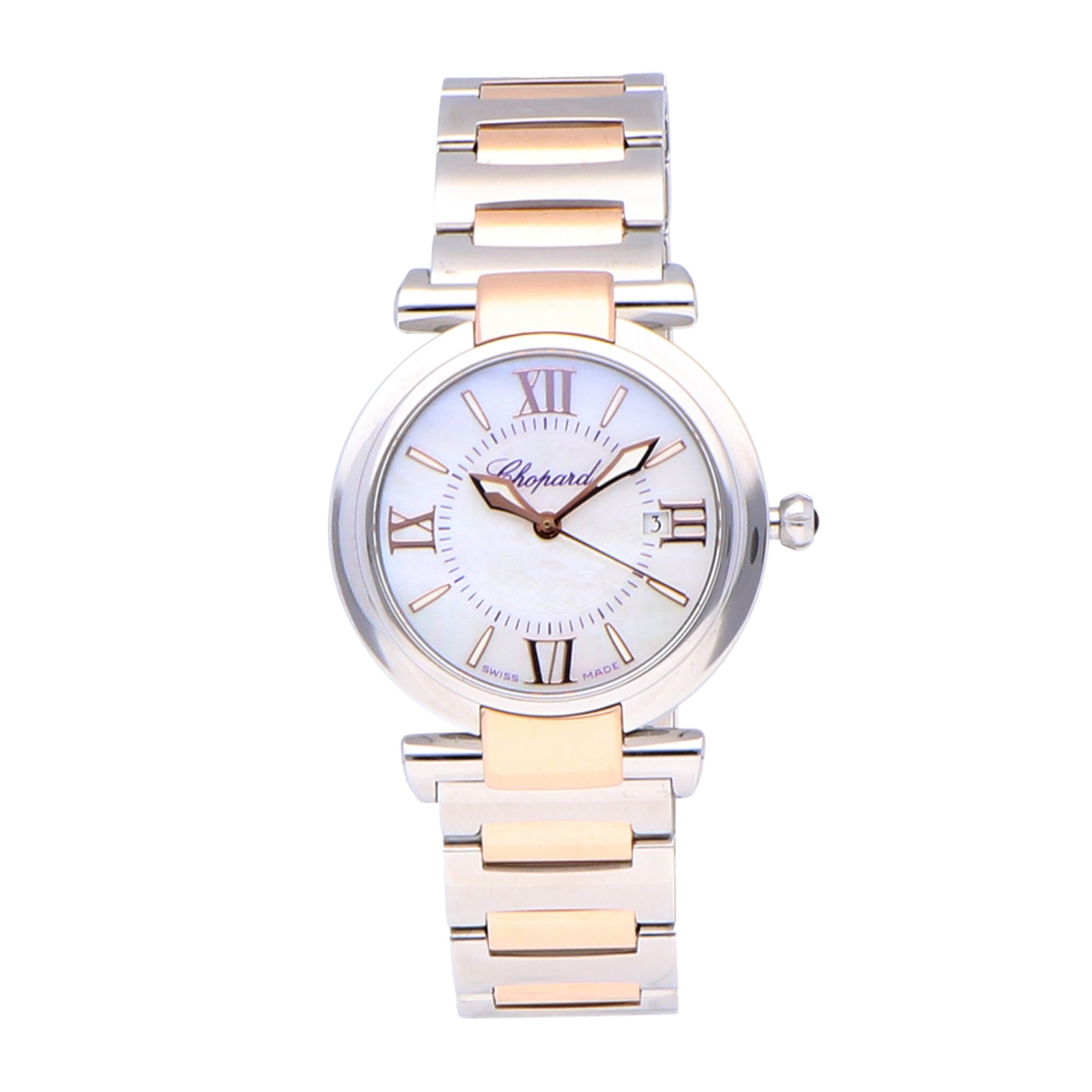 Chopard Imperiale Stainless Steel & Rose Gold 388541-6002