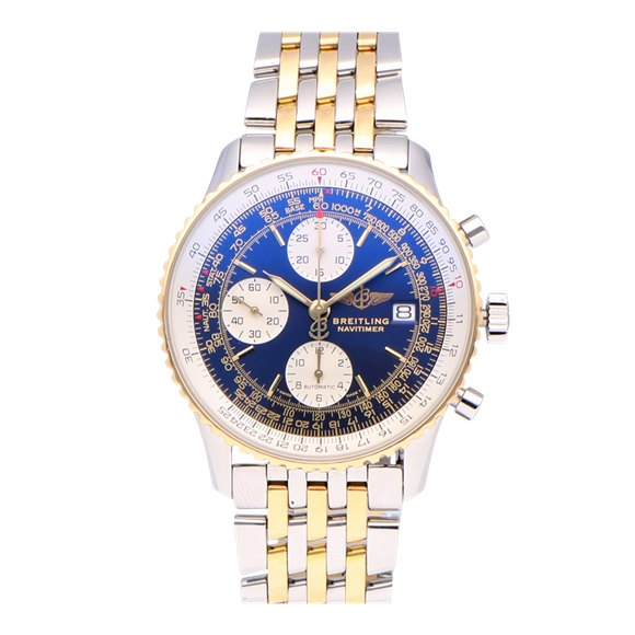 Breitling Navitimer Stainless Steel & Yellow Gold - D13022