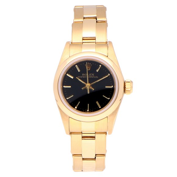 Rolex Oyster Perpetual 18k Yellow Gold - 67188