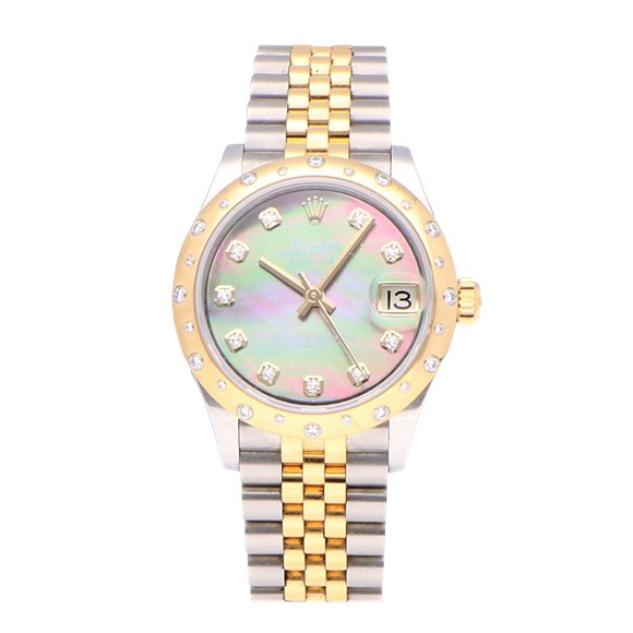Rolex Datejust Stainless Steel & Yellow Gold - 278343RBR
