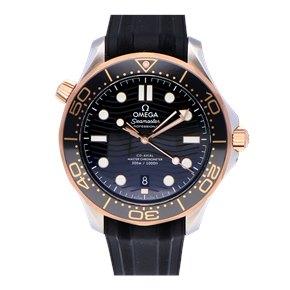 Omega Seamaster Stainless Steel & Rose Gold - 210.22.42.20.01.002