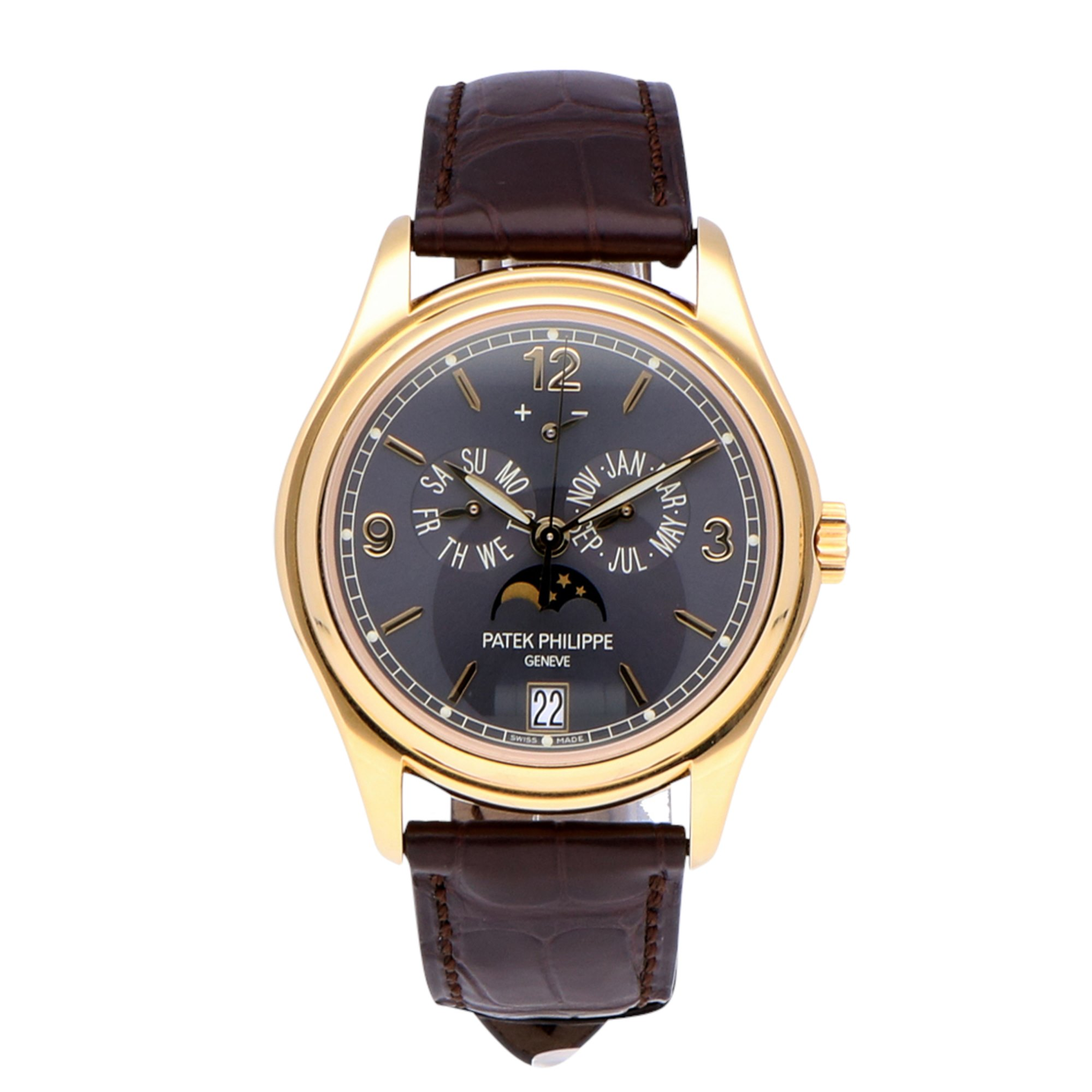 Patek Philippe Complications Annual Calendar 18k Yellow Gold 5146J-010
