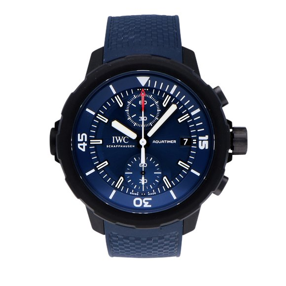 IWC Aquatimer Vulcanised Rubber Coated Stainless Steel - IW379507