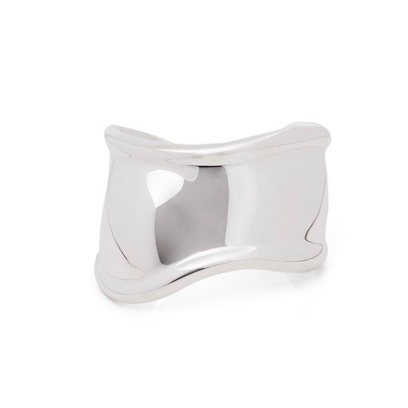 Tiffany & Co. Elsa Peretti Small Bone Cuff Sterling Silver