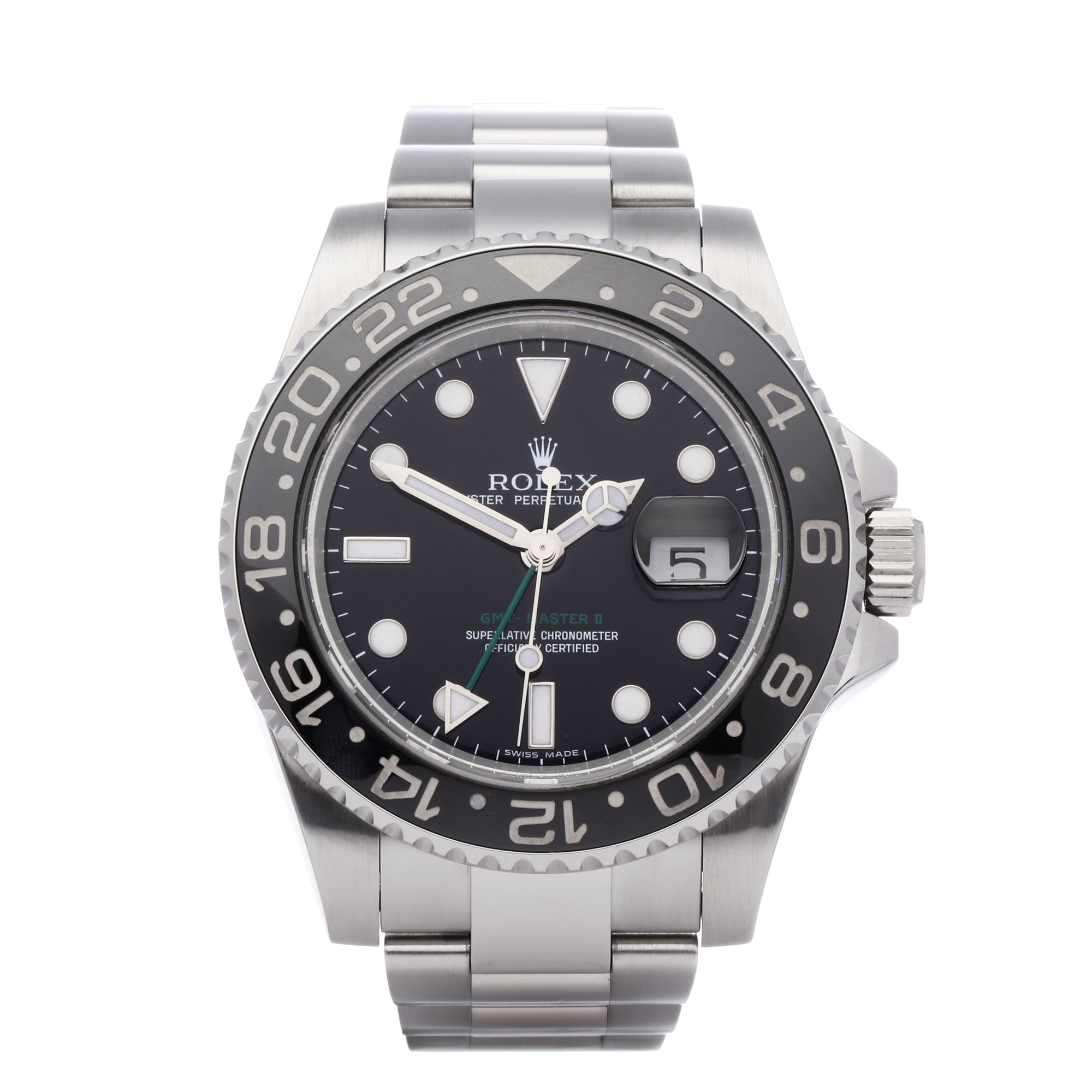Rolex GMT-Master II Date Stainless Steel 116710LN