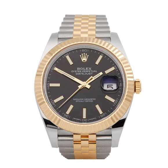 Rolex Datejust 41 18K Yellow Gold & Stainless Steel - 126333