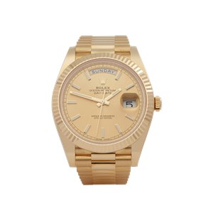 Rolex Day-Date Unworn 18K Yellow Gold - 228238