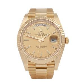 Rolex Day-Date Unworn 18K Yellow Gold - 228238