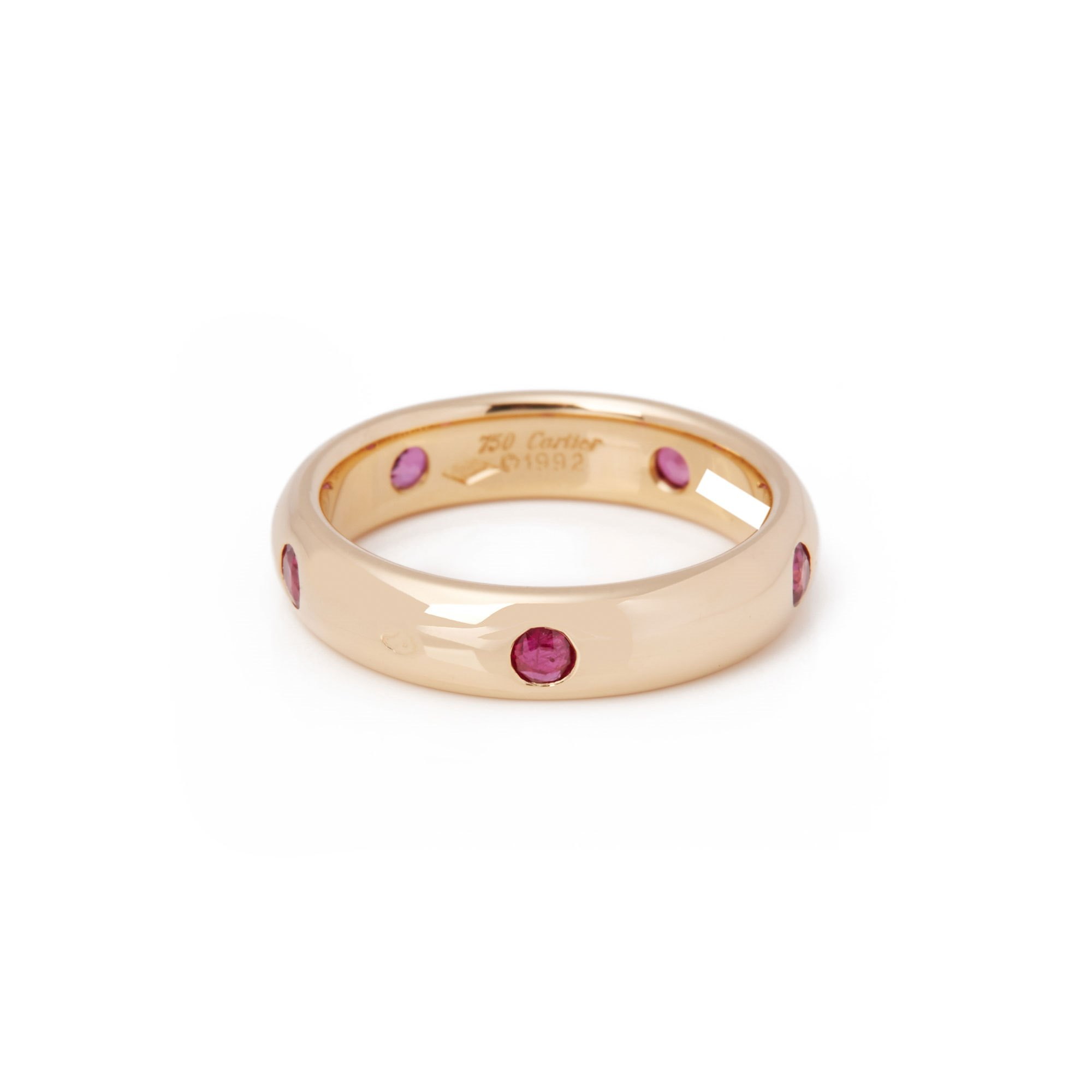 Cartier Stella 18ct Gold Ruby Band Ring