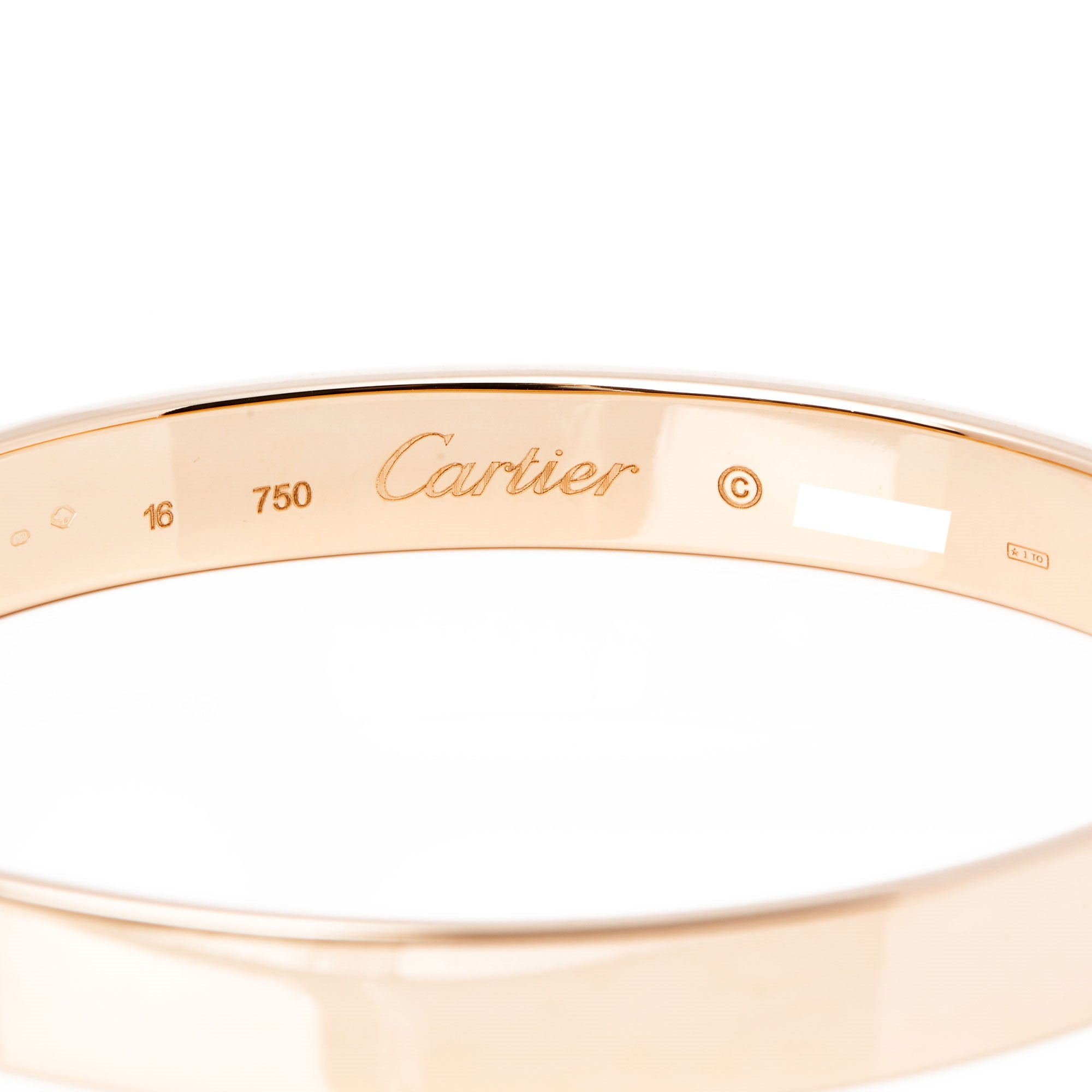 Cartier 18ct Yellow Gold Diamond Anniversary Bracelet