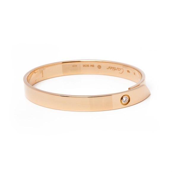 Cartier 18ct Yellow Gold Diamond Anniversary Bracelet