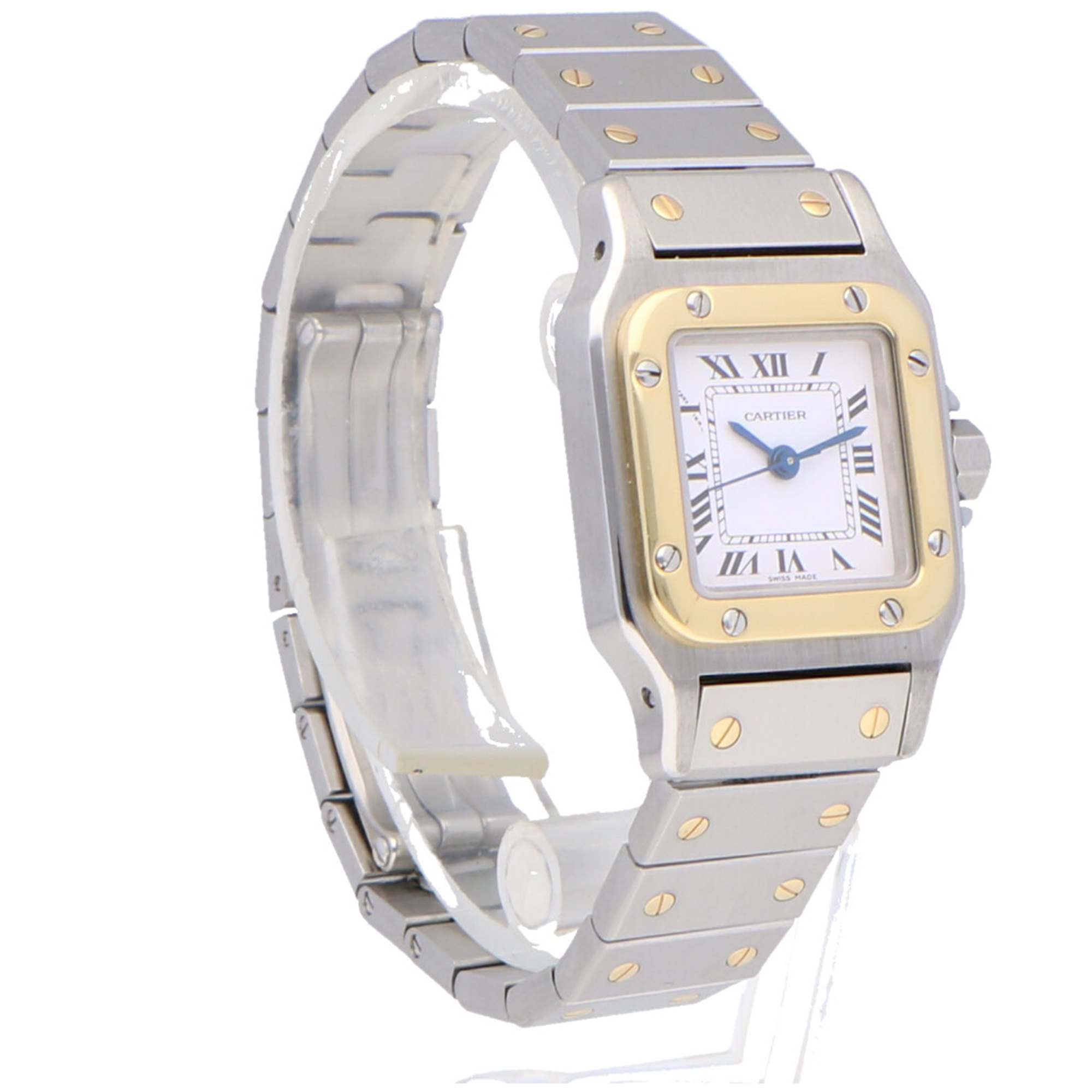 Cartier Santos Galbee Stainless Steel & Yellow Gold 1170902