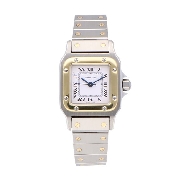 Cartier Santos Galbee Stainless Steel & Yellow Gold - 1170902