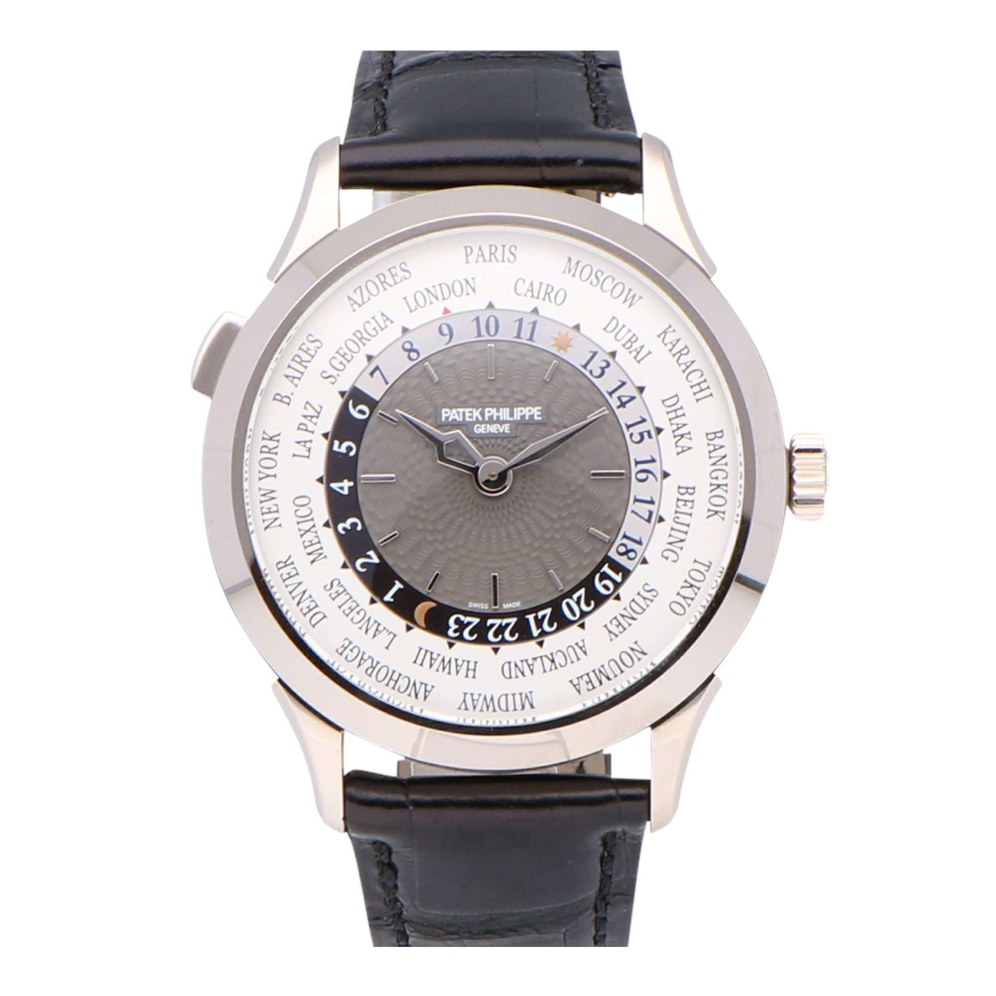 Patek Philippe Complications Worldtime 18k White Gold 5230G-014