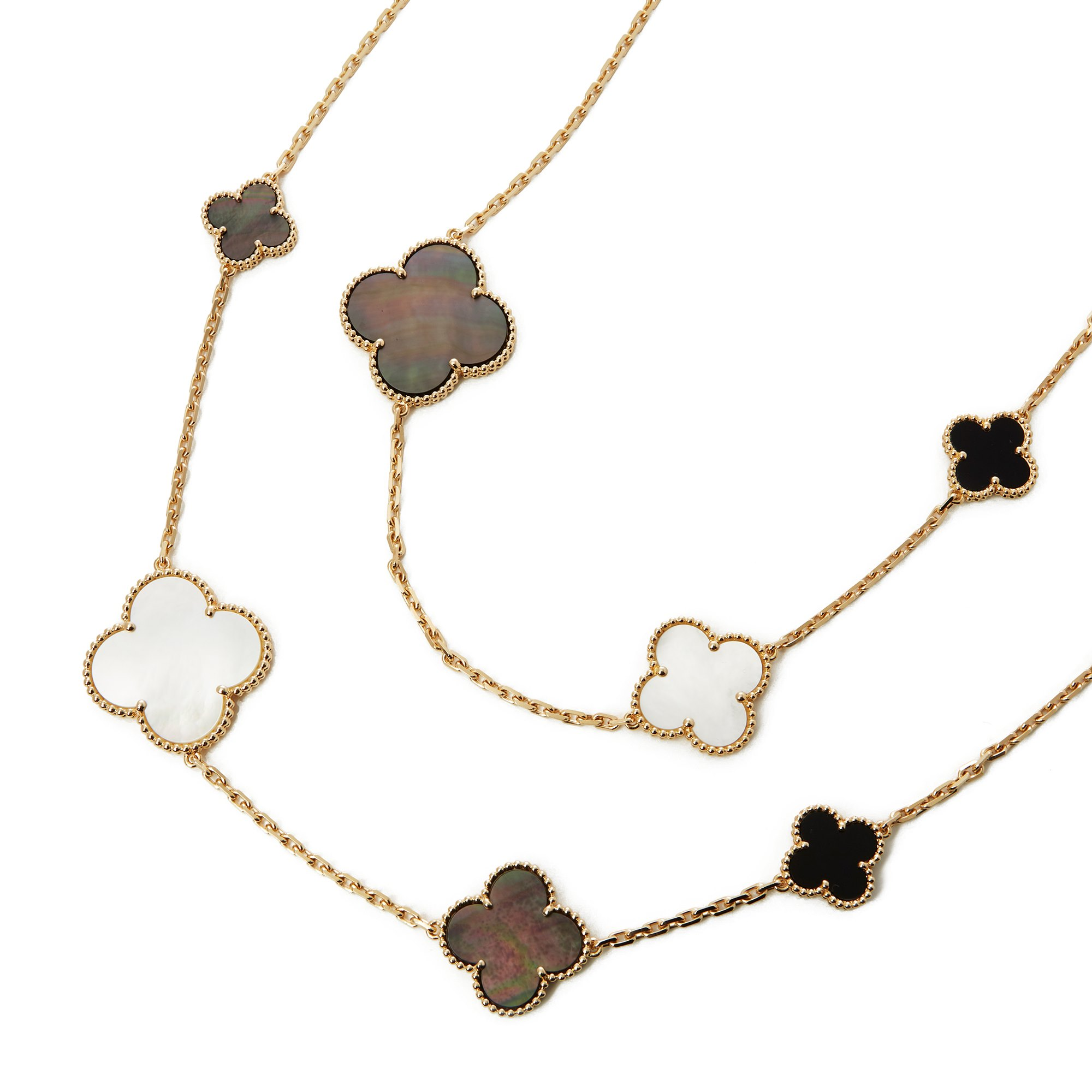 Van Cleef & Arpels Magic Alhambra Long Necklace 16 motifs