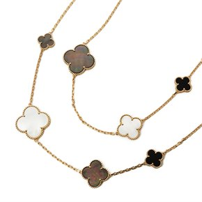 Van Cleef & Arpels Magic Alhambra Long Necklace 16 motifs