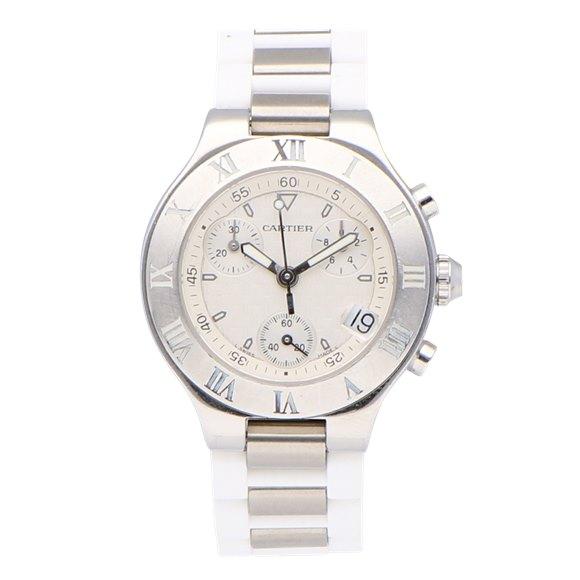 Cartier Must de 21 Chronograph - 2996