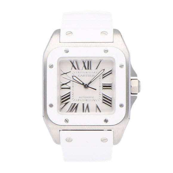 Cartier Santos 100 Stainless Steel - 2878