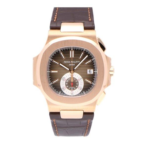 Patek Philippe Nautilus 18k Rose Gold - 5980R-001