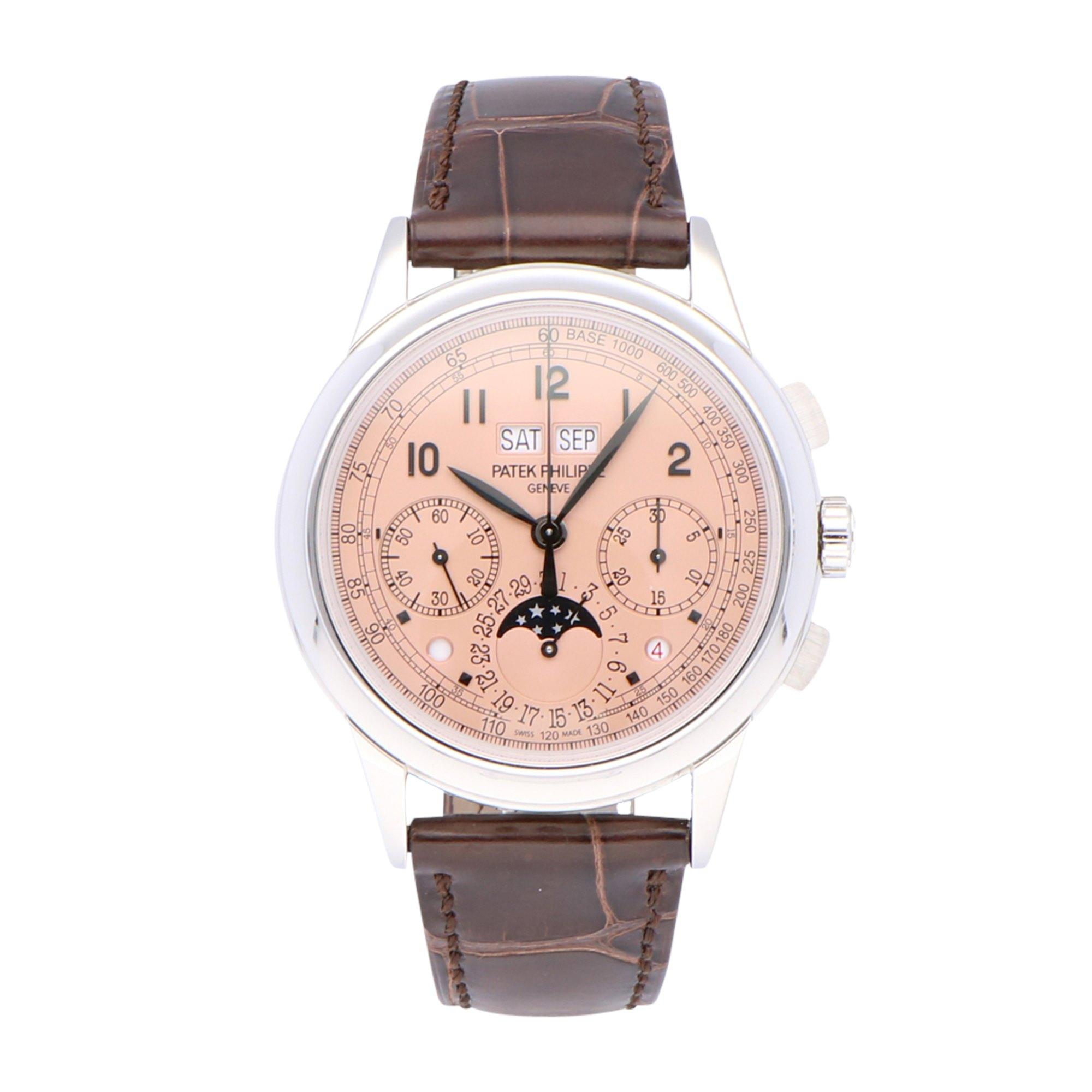 Patek Philippe Grand Complications Perpetual Calendar Chronograph 5270P-001