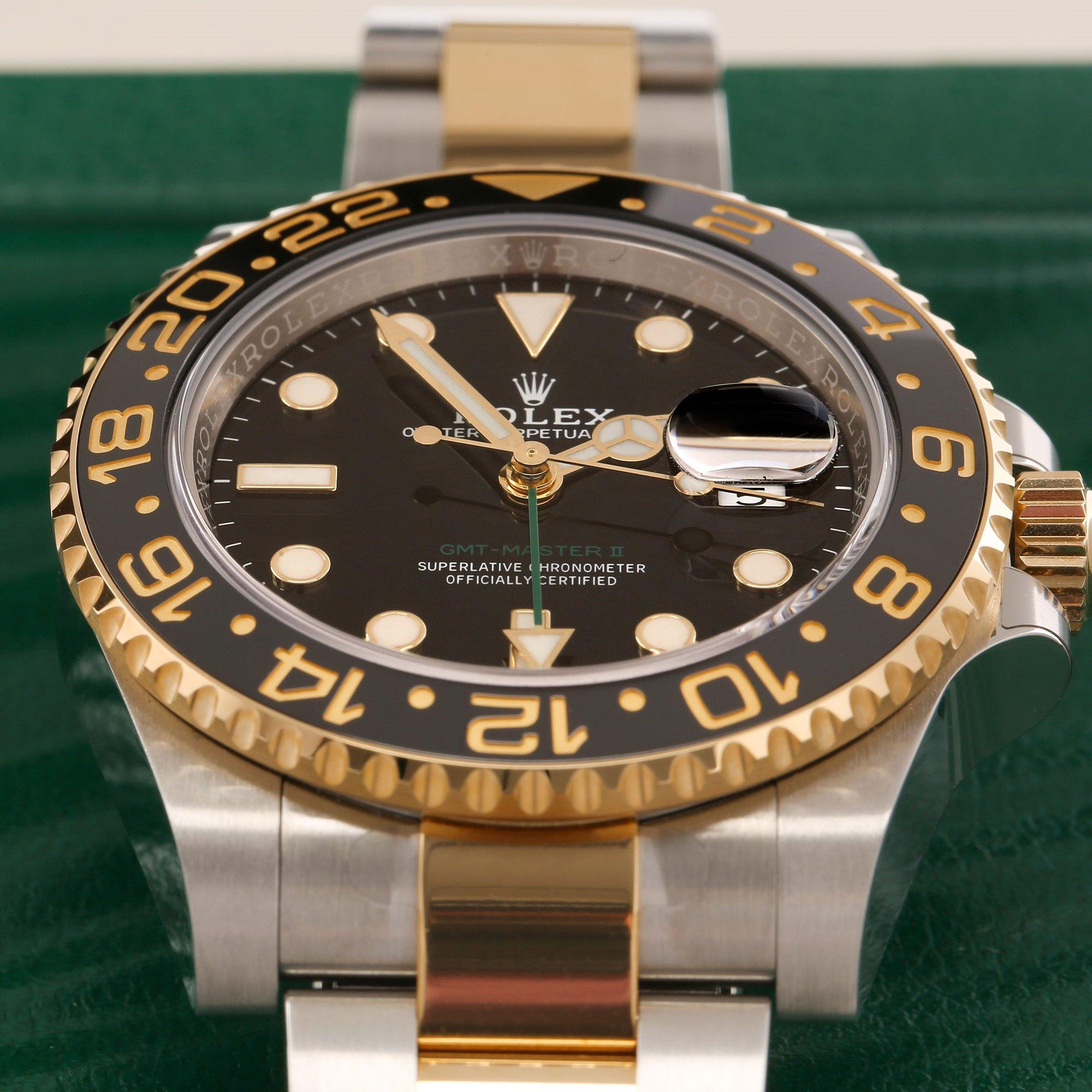 Rolex GMT-Master II Stainless Steel 116713LN