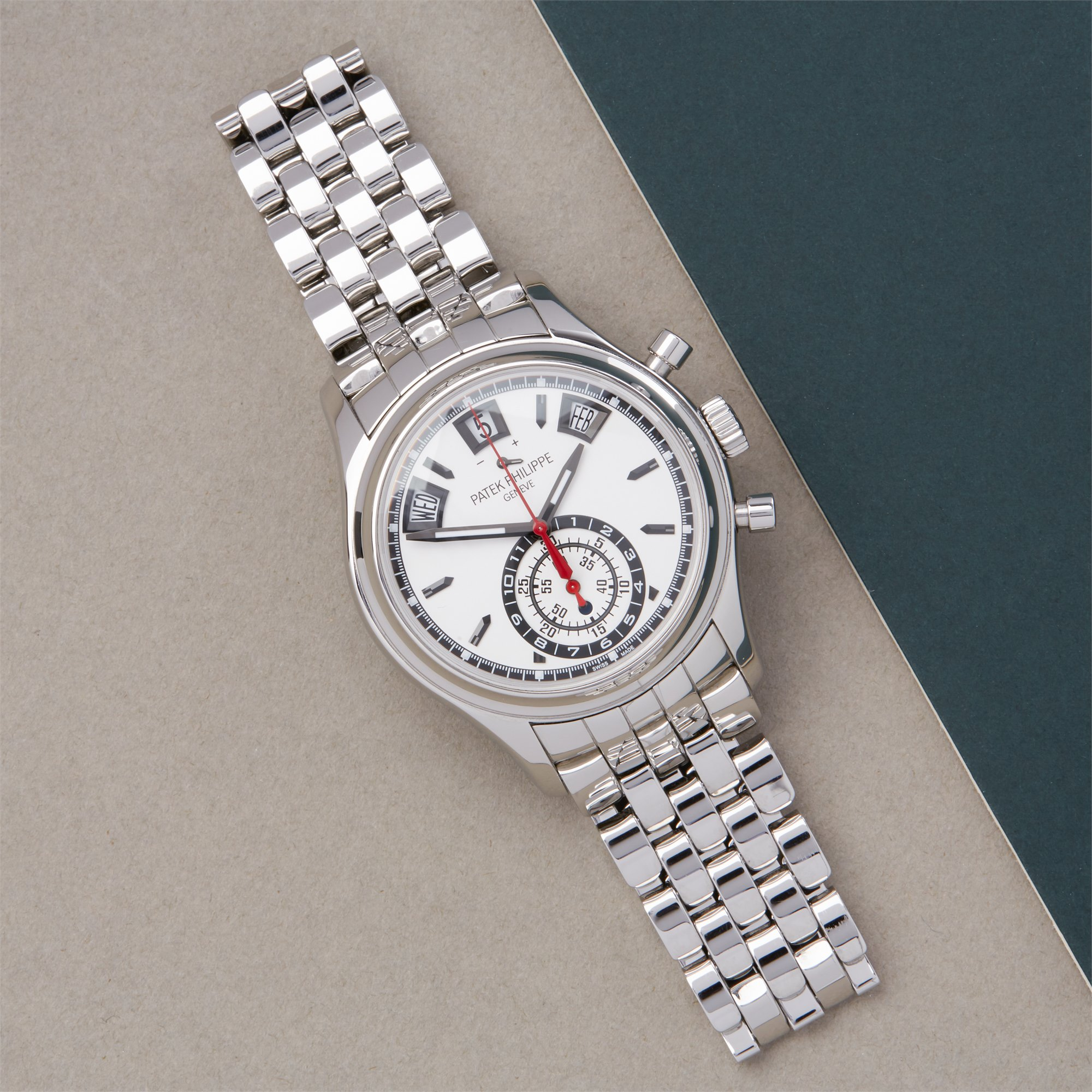 Patek Philippe Complications Annual Calendar Chronograph Stainless Steel - 5960/1A-001 Stainless Steel 5960/1A-001