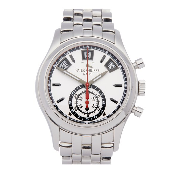 Patek Philippe Complications Annual Calendar Chronograph Stainless Steel - 5960/1A-001