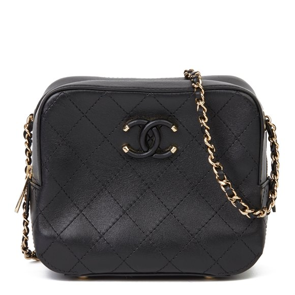 Chanel Chanel Quilted Calfskin Mini Classic Camera Bag