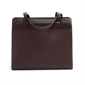 Louis Vuitton Brown Epi Leather Croisette PM
