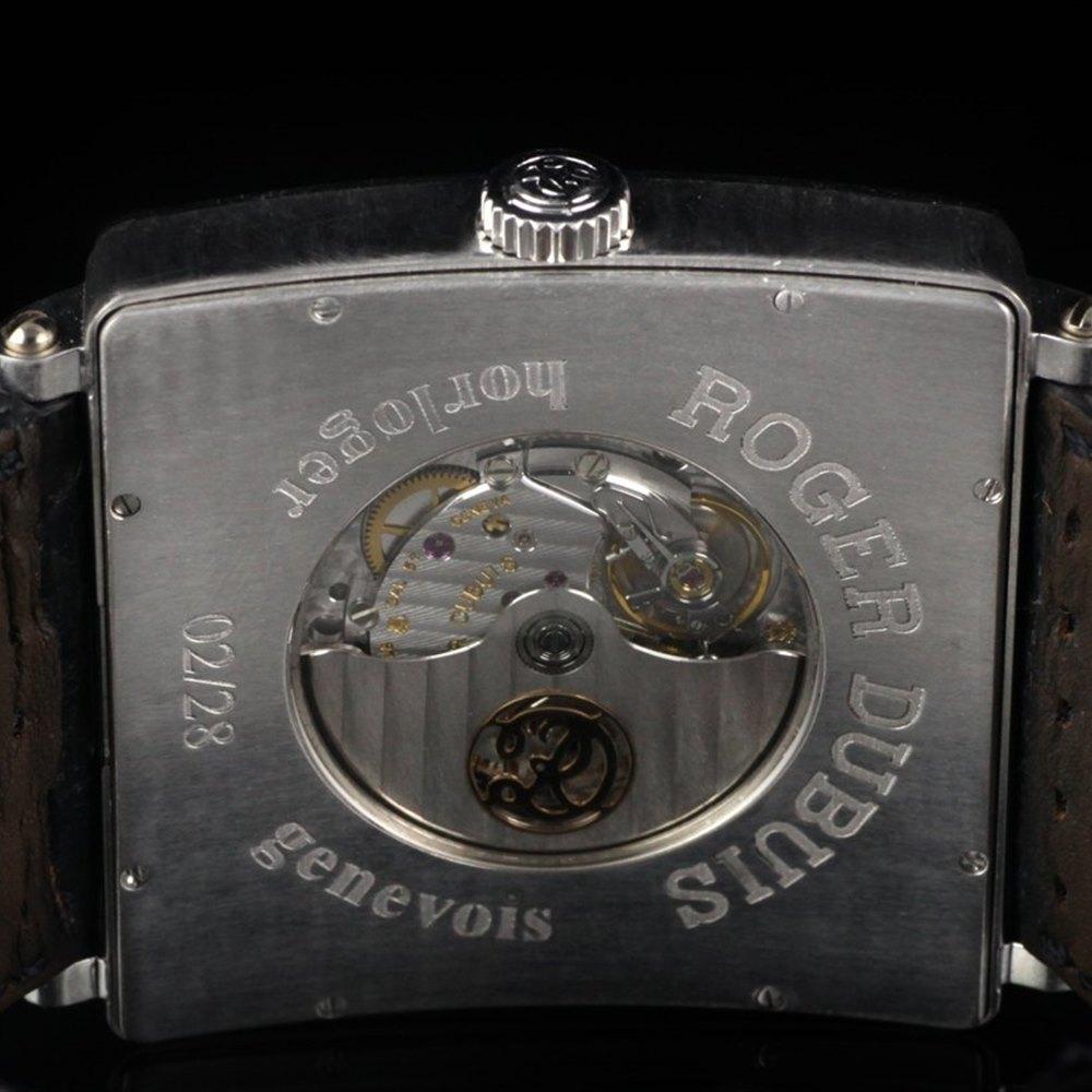 Roger Dubuis Golden Square 18k White Gold 19529