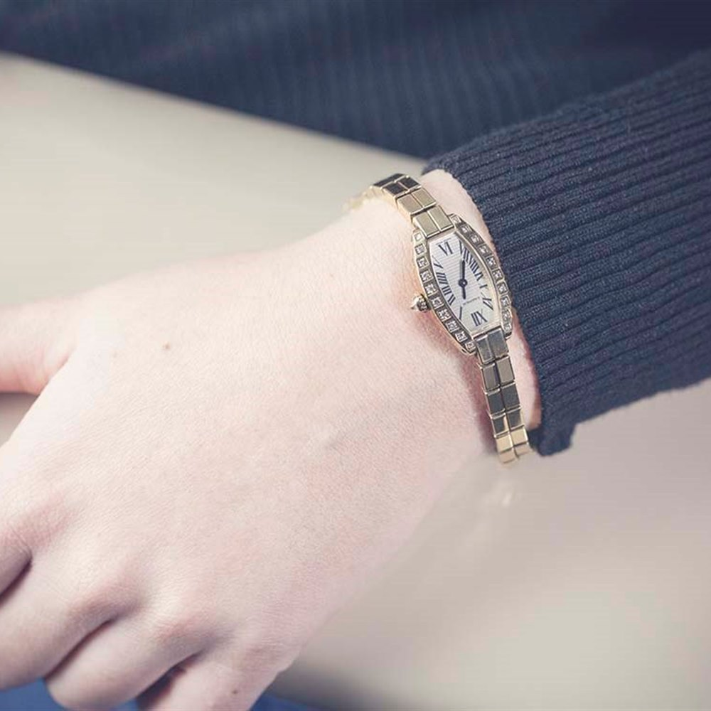 Cartier Lanieres 18k Yellow Gold