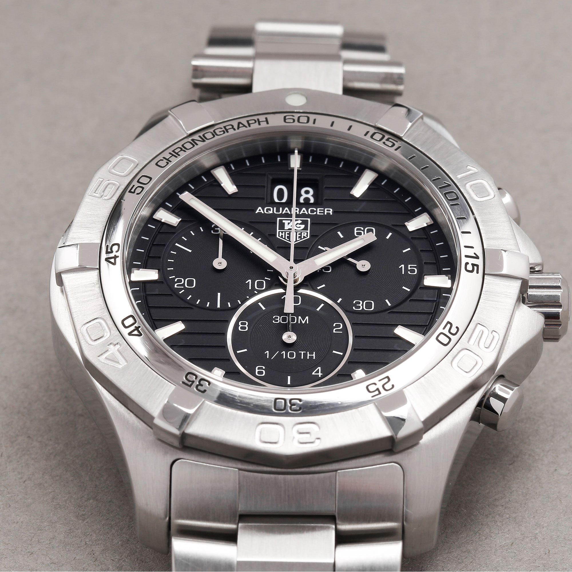 Tag Heuer Aquaracer Chronograph Stainless Steel CAF101E