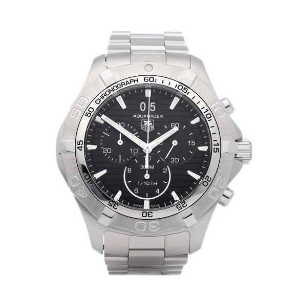 Tag Heuer Aquaracer Chronograph Stainless Steel - CAF101E