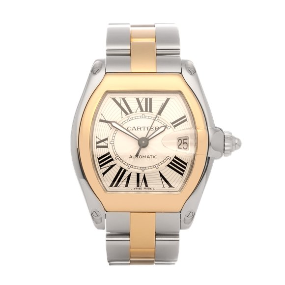 Cartier Roadster Large Automatic 18K Yellow Gold & Stainless Steel - 2510
