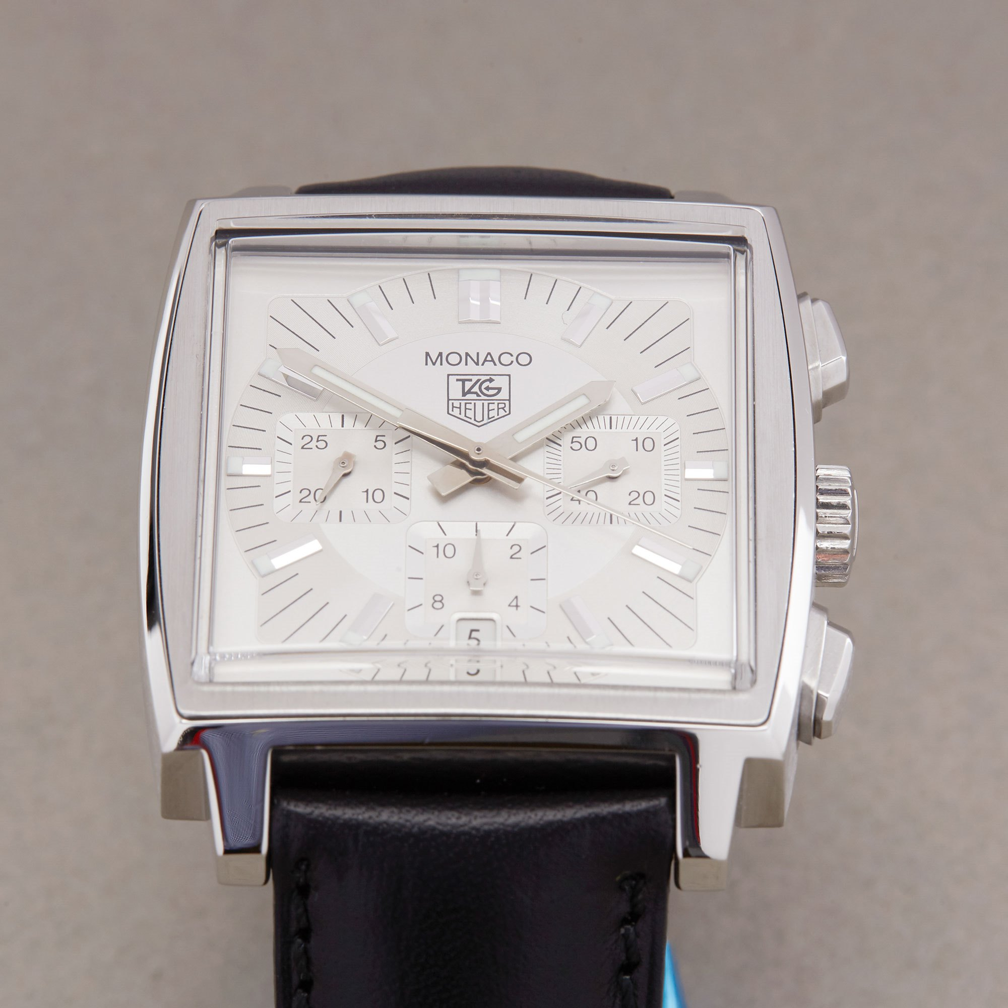 Tag Heuer Monaco Chronograph Roestvrij Staal CW2112-0