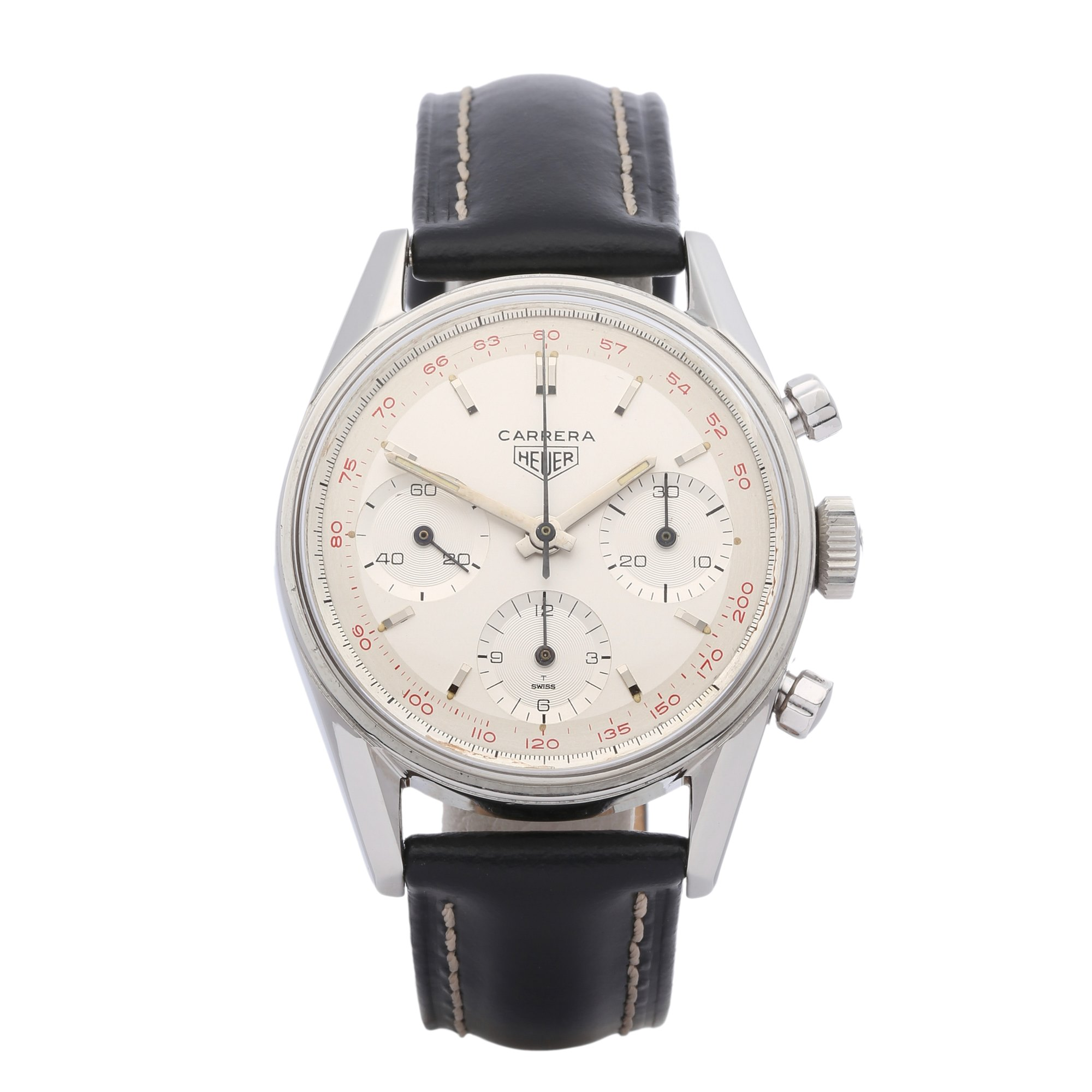 Heuer Carrera Chronograph Stainless Steel - 2447T Stainless Steel 2447T