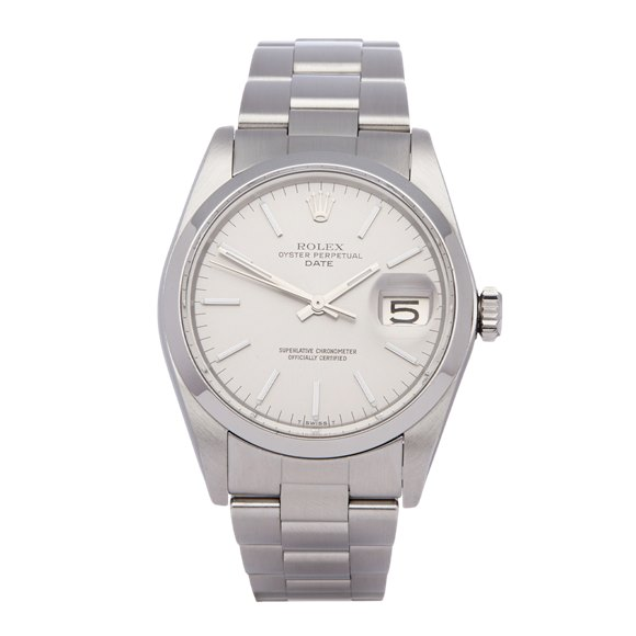 Rolex Oyster Perpetual Date Stainless Steel - 1500