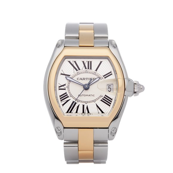 Cartier Roadster Large Automatic 18K Stainless Steel & Yellow Gold - 2510