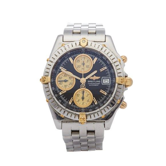 Breitling Chronomat Chronograph 18K Stainless Steel & Yellow Gold - B13350