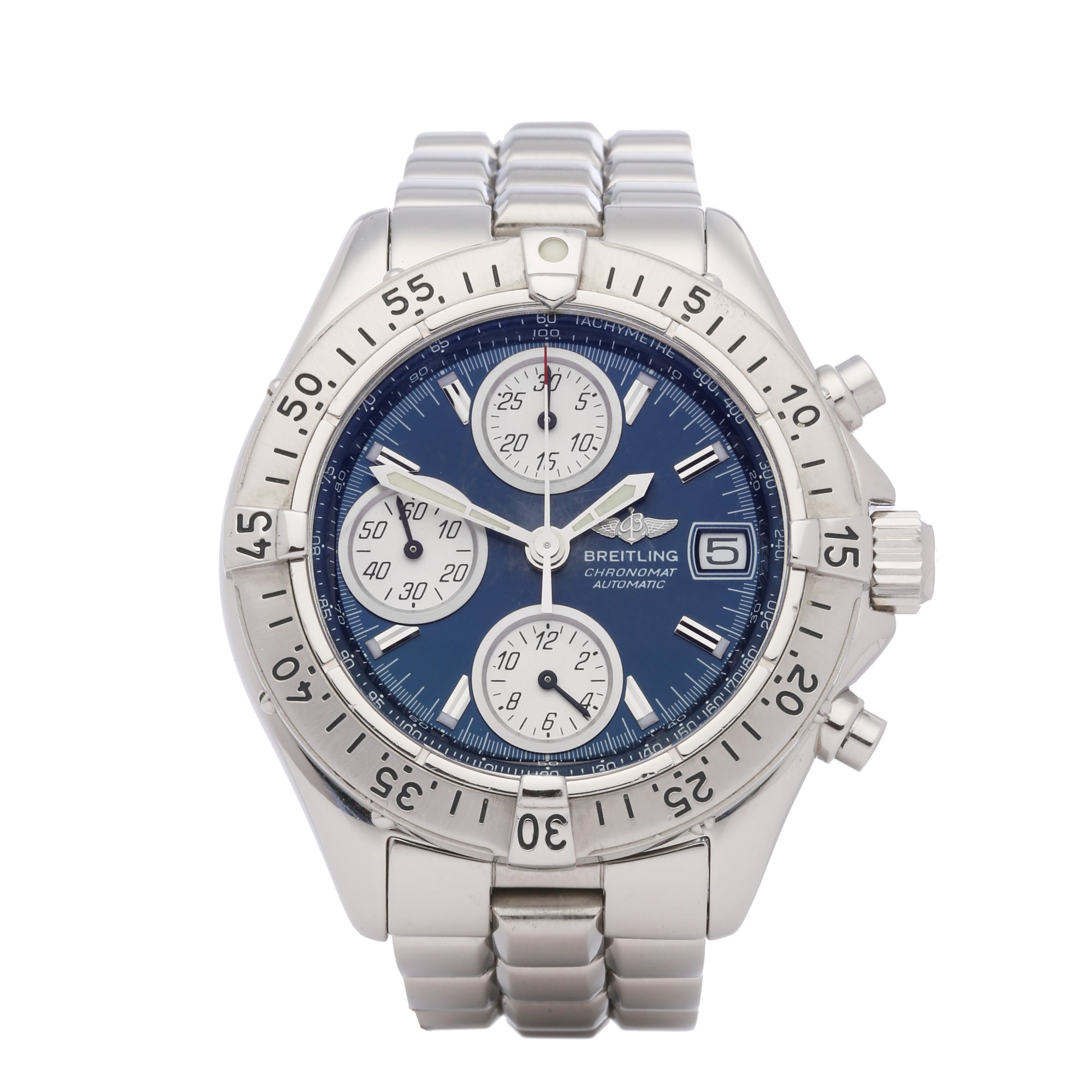 Breitling Chronomat Chronograph Roestvrij Staal A13335