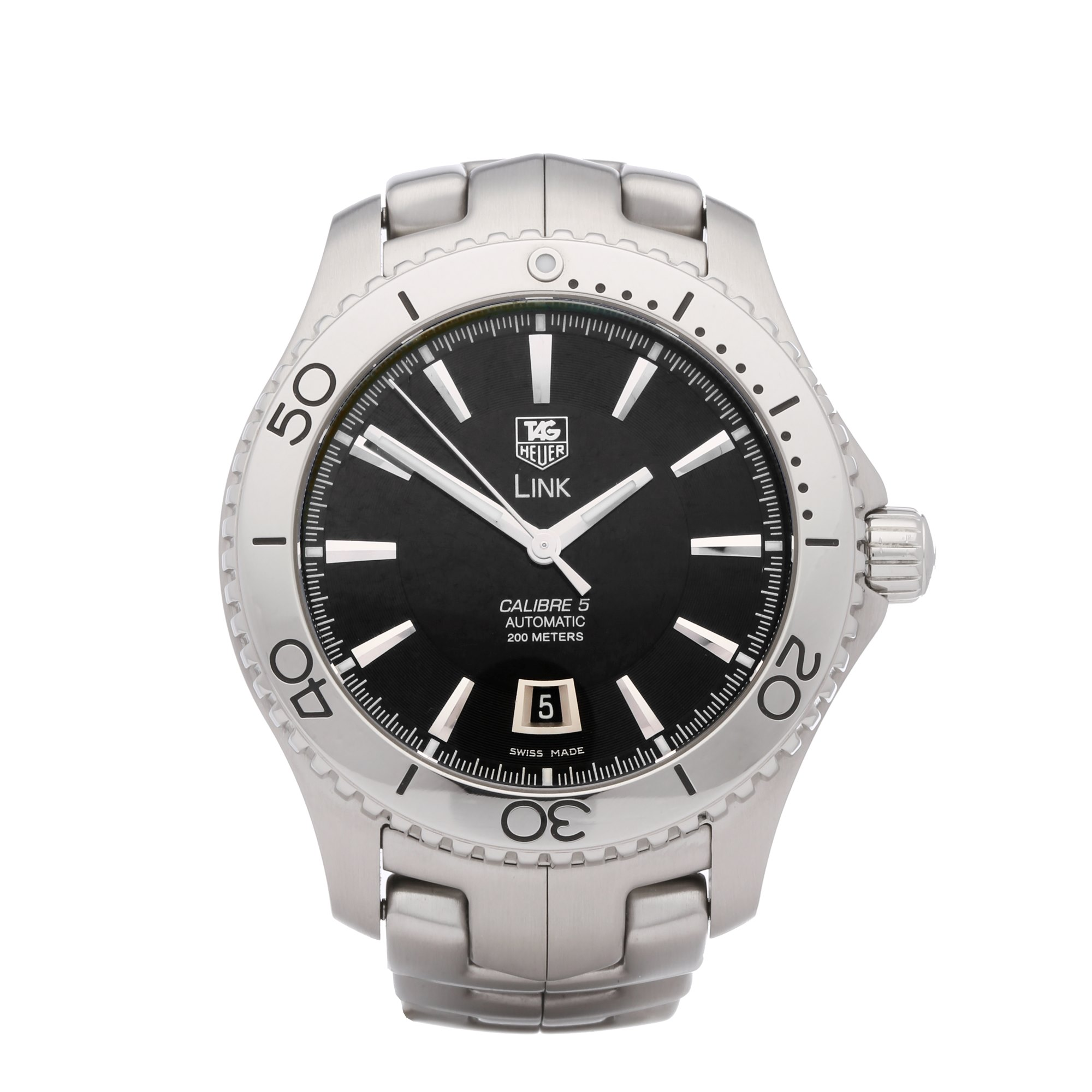 Tag Heuer Link Roestvrij Staal WJ201A