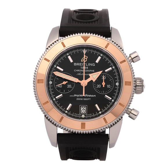 Breitling Superocean Heritage Chronograph 18K Stainless Steel & Rose Gold - U2337012/BB81