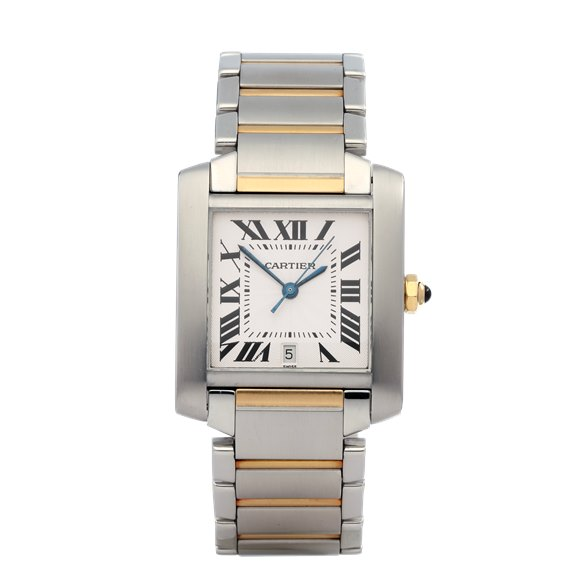 Cartier Tank Francaise Automatic 18K Yellow Gold & Stainless Steel - 2302