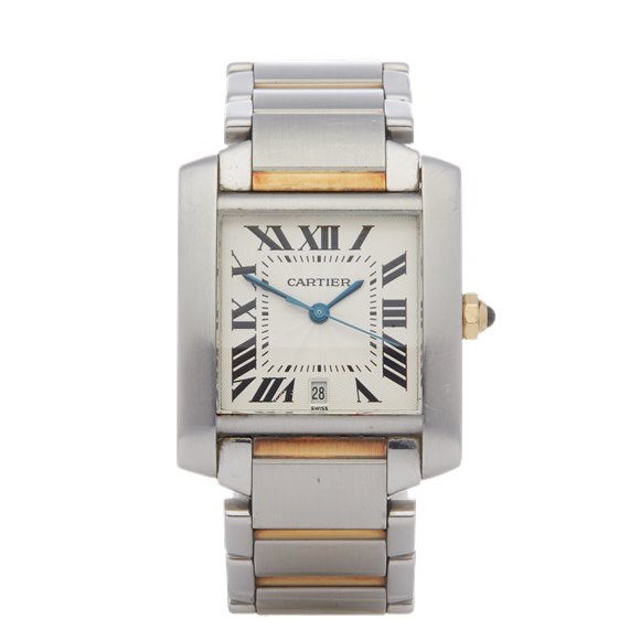 Cartier Tank Francaise Automatic 18K Stainless Steel & Yellow Gold - 2302