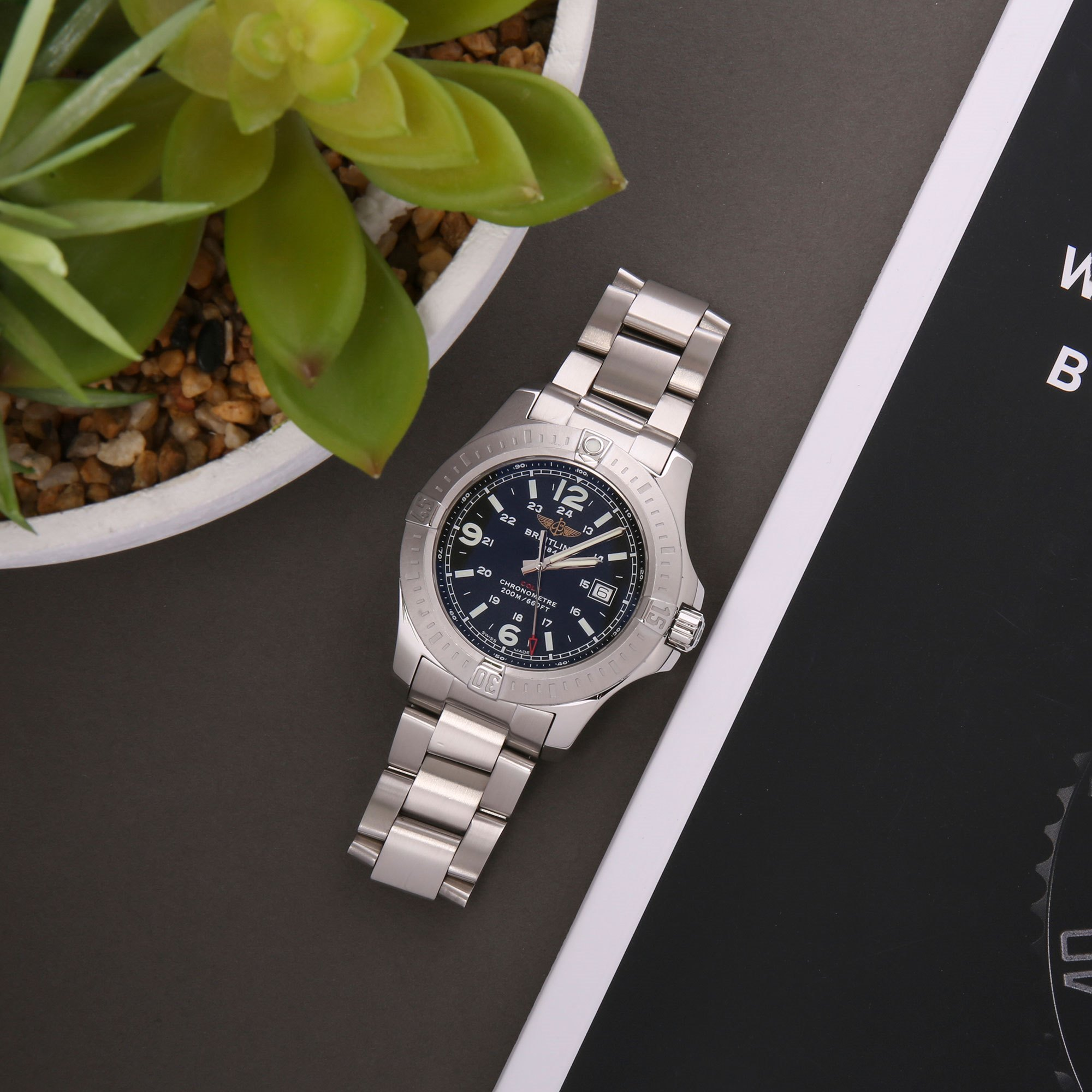 Breitling Colt Roestvrij Staal A74388