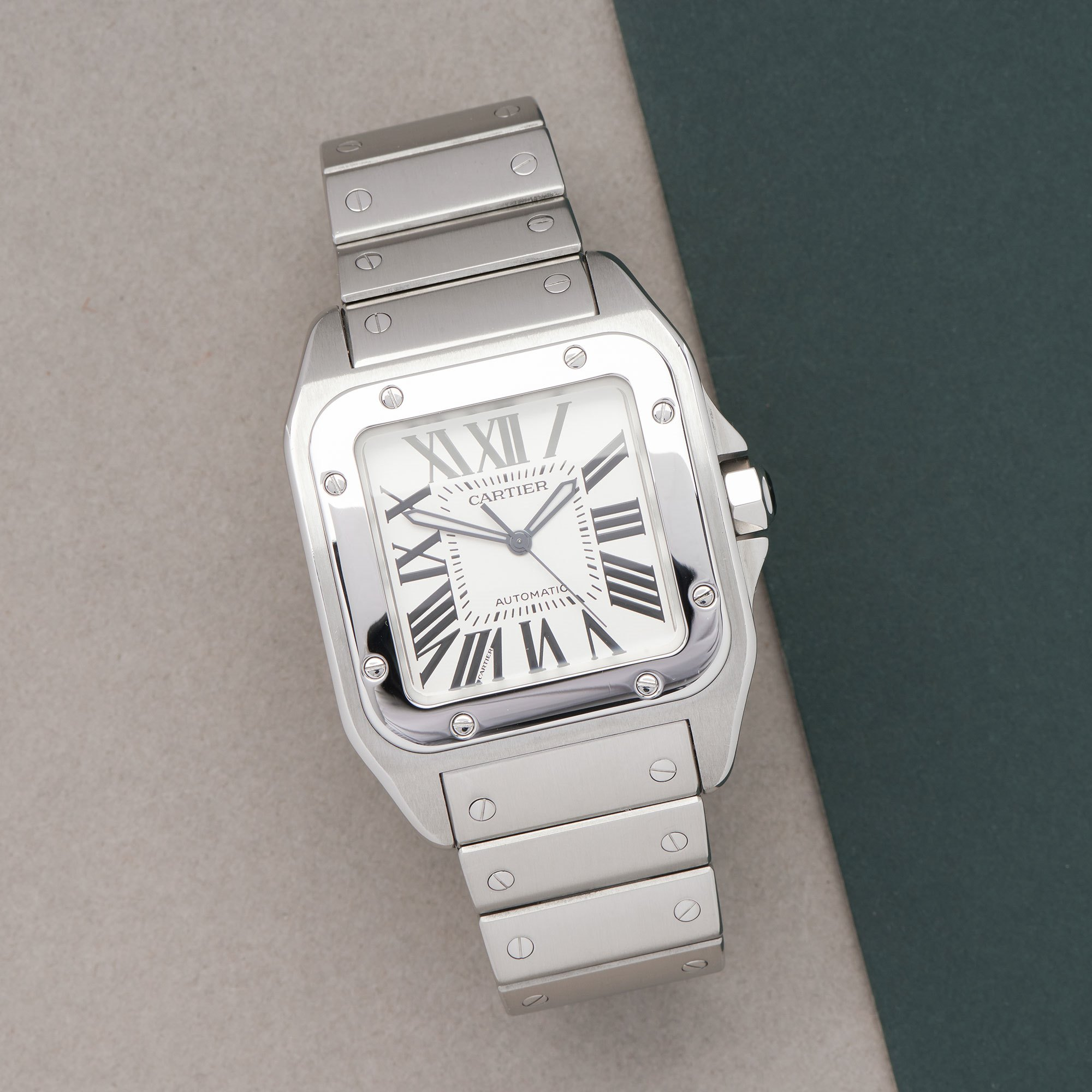 Cartier Santos 100 XL Automatic Stainless Steel W200737G or 2656