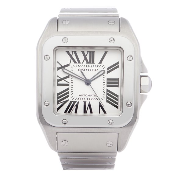 Cartier Santos 100 XL Automatic Stainless Steel - W200737G or 2656